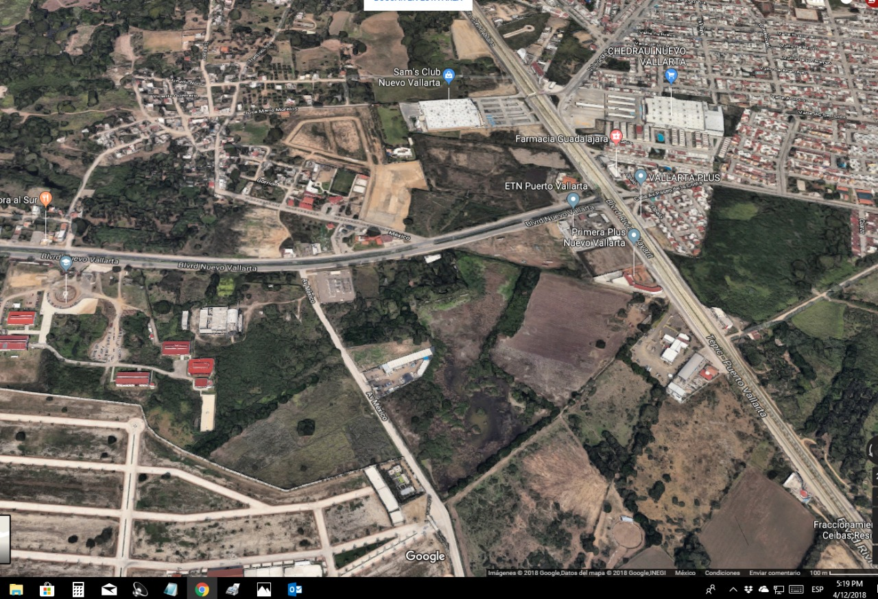 Land For Sale In Nuevo Vallarta Great Opportunity Of
