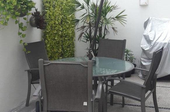 Terrace with Umbrella
